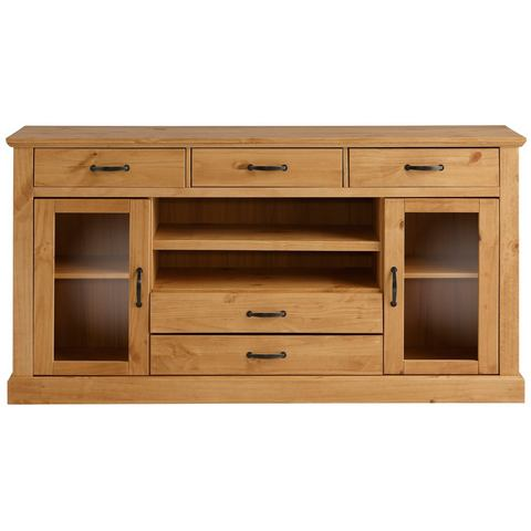 Dressoirs HOME AFFAIRE Grenen sideboard van 158 cm breed 573385