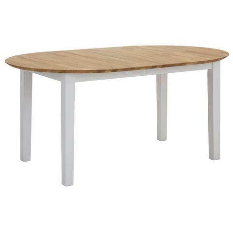 Eettafel, HOME AFFAIRE, Time breedte 160cm, met uittrekbaar tafelblad