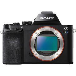 sony alpha ilce-7s body systeemcamera, 12,2 megapixel, 7,5 cm (3 inch) display zwart