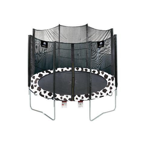 RBSPORTS Trampoline 366 cm in koe-design