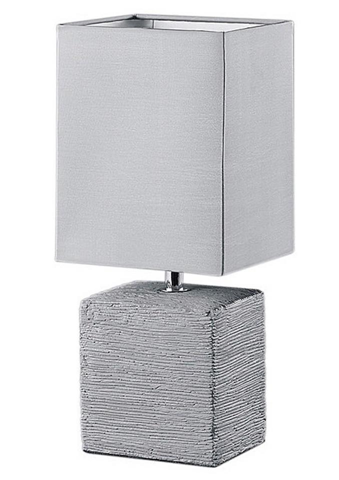 Trio Leuchten TRIO Tafellamp met stoffen kap online kopen op otto.nl