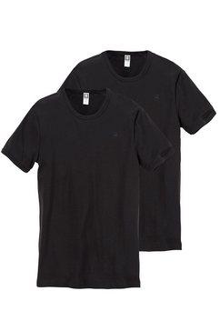 g-star t-shirt (set van 2) zwart