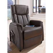 tv-fauteuil met motor en opstahulp bruin