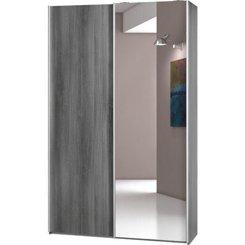 CS SCHMAL kast SoftSmart 120 cm breed beige slaapkamer garderobekast 19
