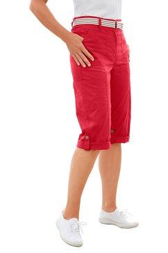 capribroek met elastische band rood