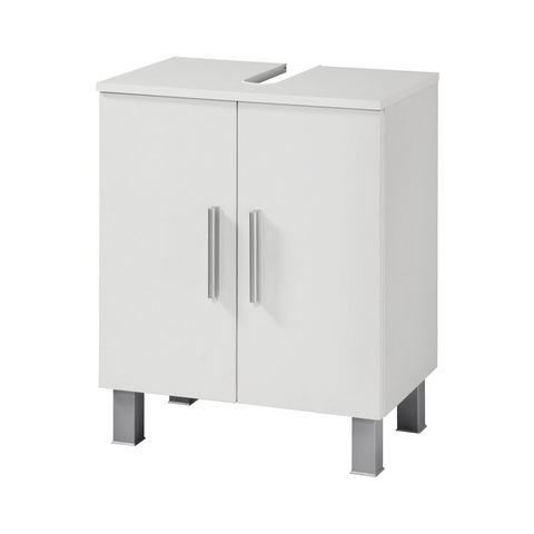 Wasbakonderkast »Monaco« witte badkamer onderkast 254