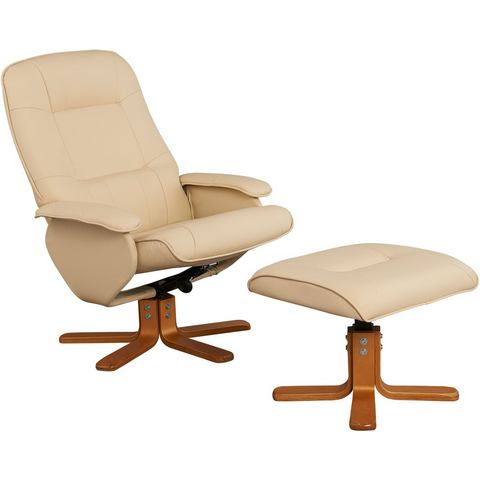 HOME AFFAIRE Relaxfauteuil & hocker Nice
