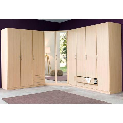 Kledingkasten Garderobekast in 2 kleuren en 3 breedten 282541