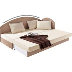 maintal dubbel bed bruin