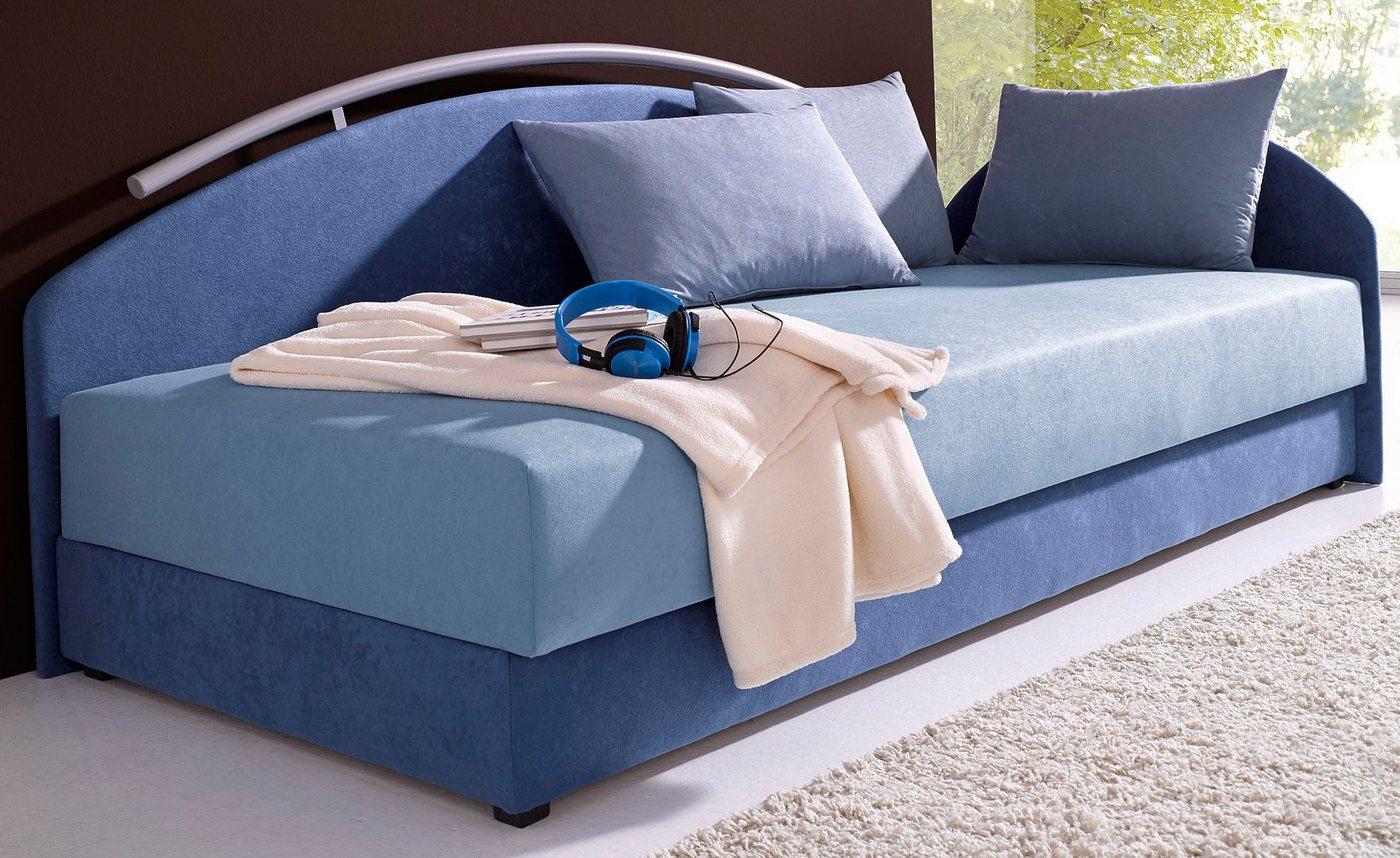 MAINTAL Bed met metalen reling