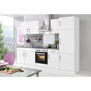 held moebel keukenblok met elektrische apparaten »toronto, breedte 270 cm« wit
