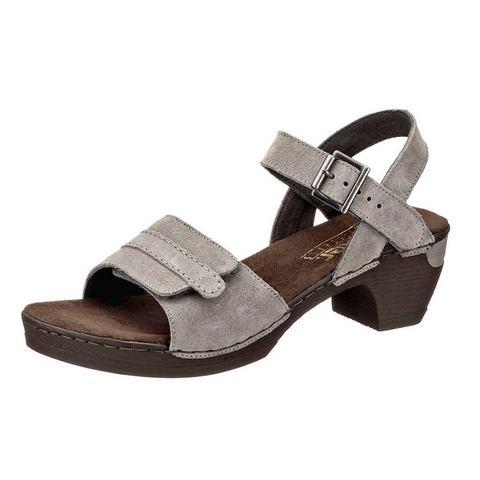 Dames schoen: RIEKER Sandaaltjes van suèdeleer