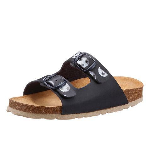 Lico NU 15% KORTING: LICO Slippers met voetbed van kurk-natuurrubber