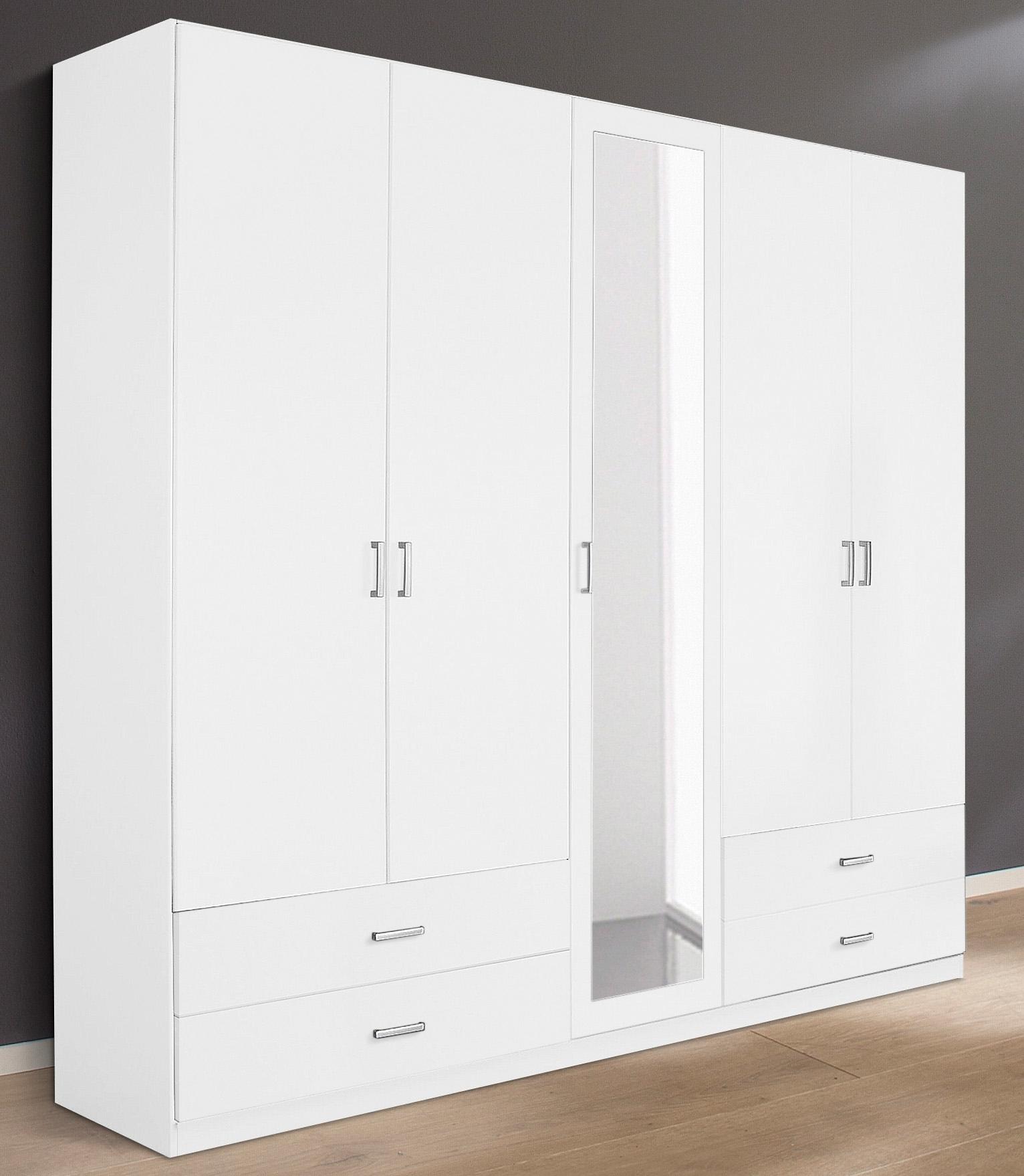 Garderobekast met spiegel en laden makkelijk besteld otto for Spiegel laden berlin