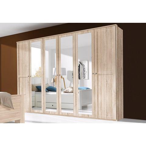 Kledingkasten Garderobekast met spiegeldeuren 882235