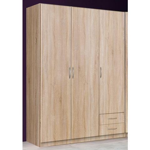 Kledingkasten Garderobekast in 2 kleuren en 3 breedten 612383