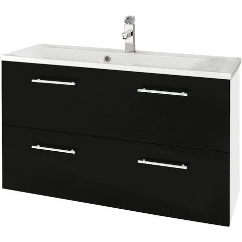 KESPER Wastafelonderkast Sierra met 2 laden witte badkamer onderkast 242