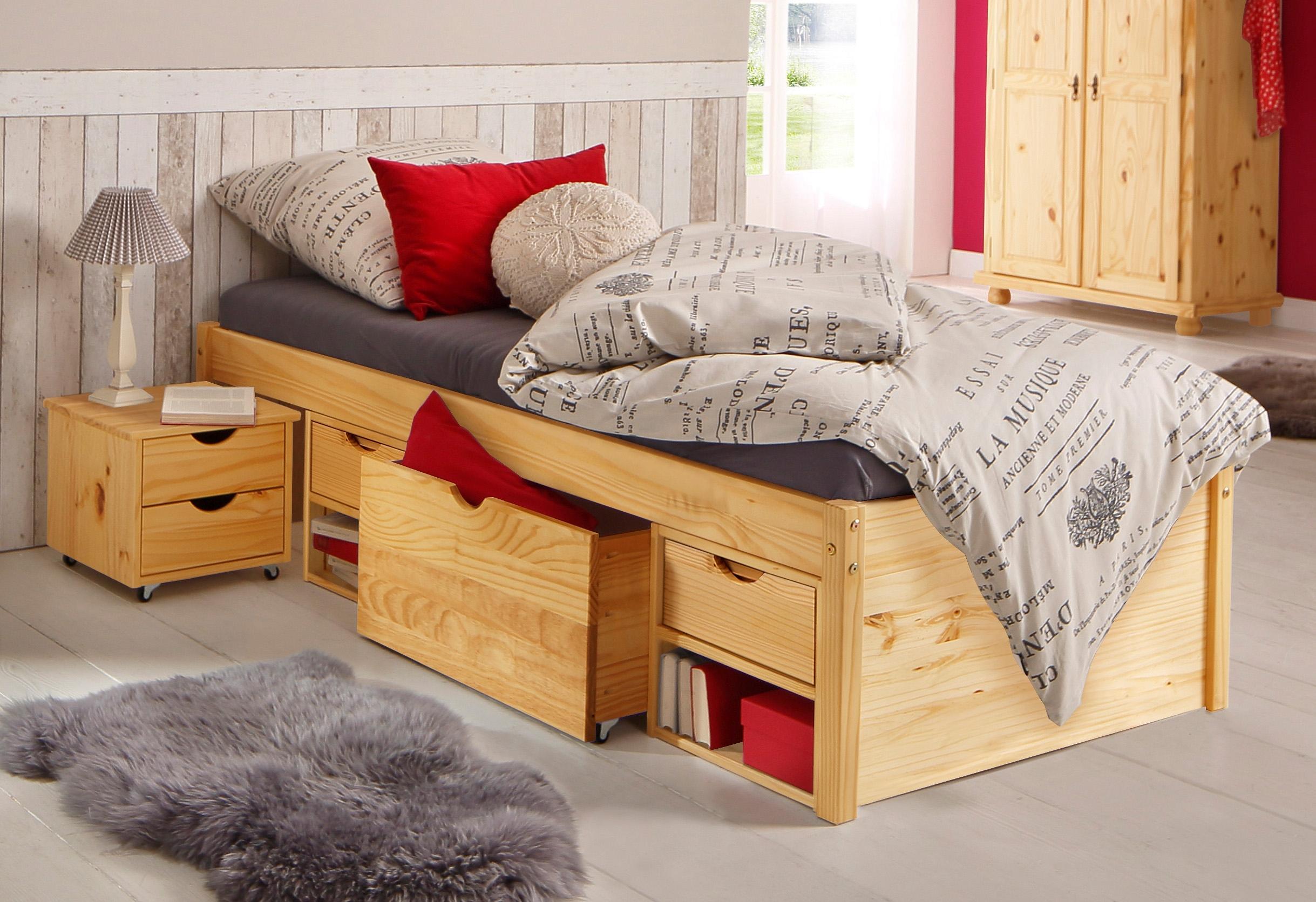 home affaire bed met bergruimte in de online winkel otto. Black Bedroom Furniture Sets. Home Design Ideas