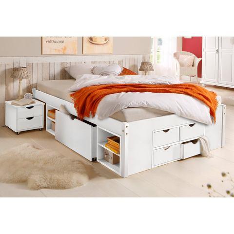 HOME AFFAIRE Bed met bergruimte wit wit Home Affaire 856078