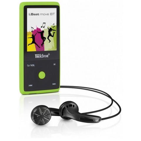TrekStor® MP3-speler, MP4-speler 8 GB Groen, Bluetooth, Spraakopname