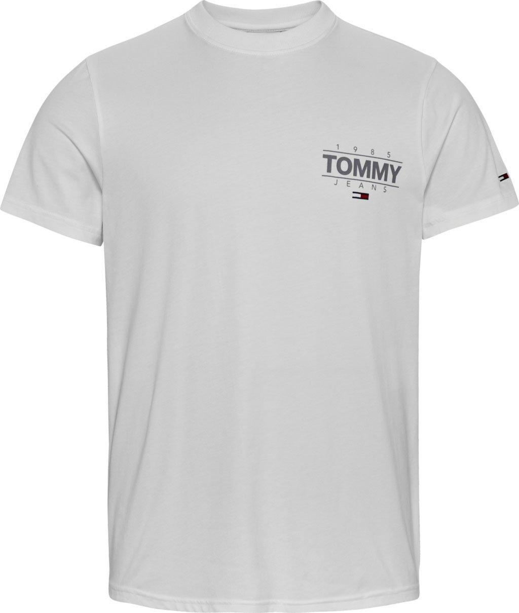 TOMMY JEANS T-shirt TJM SLIM STRETCH METALLIC TEE voordelig en veilig online kopen