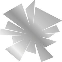 queence sierspiegel motief ii zilver