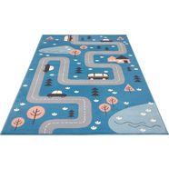 hanse home vloerkleed voor de kinderkamer dream street straat speelkleed blauw