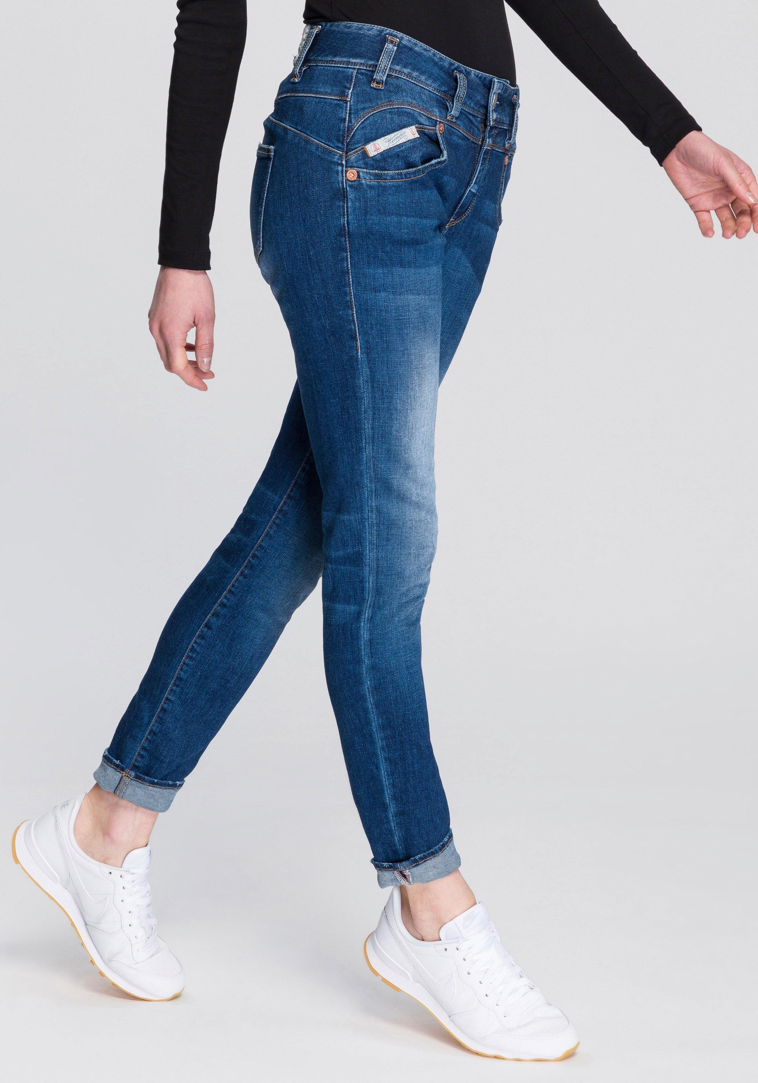 Herrlicher slim fit jeans »PEARL SLIM ORGANIC« nu online kopen bij OTTO