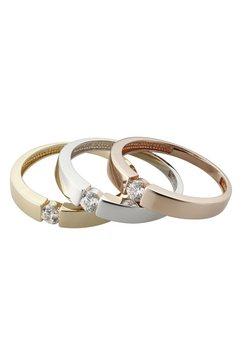 ring met swarovski-zirkoon roze