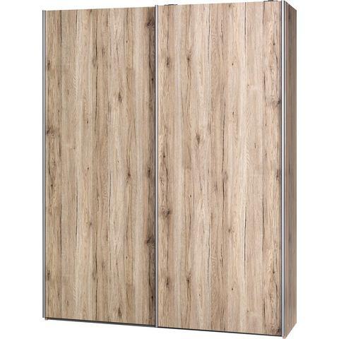 CS SCHMAL kast Smart breedte 150 cm bruine slaapkamer garderobekast 85