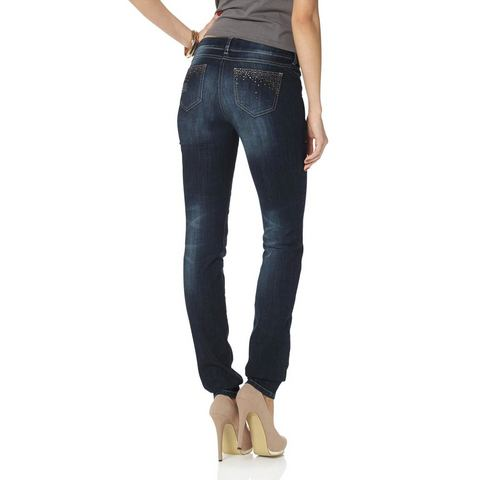 MELROSE 5-pocketsjeans Slim Fit