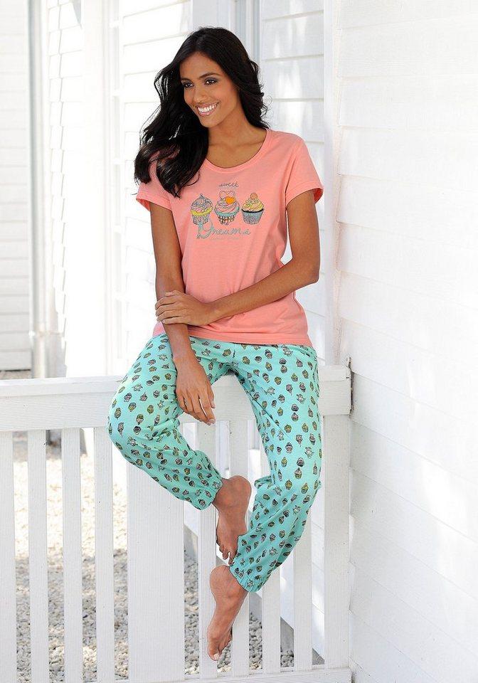 PETITE FLEUR Pyjama in cupcake-dessin