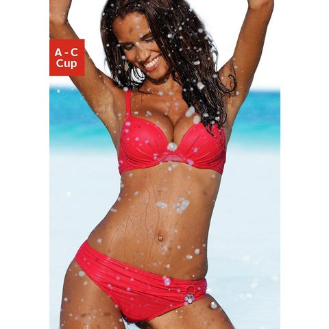 NU 15% KORTING: S.OLIVER Push-up-bikini met dubbele bandjes (2-delig)