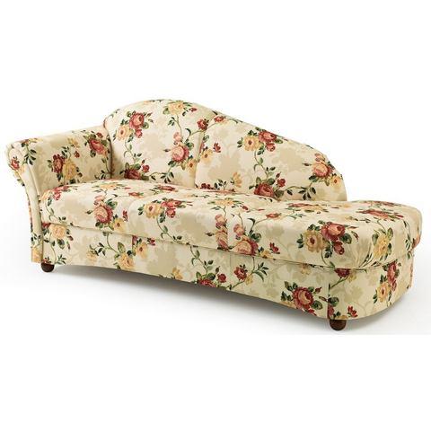 woonkamer chaise longues rood MAX WINZER® Chaise longue Carolina Platweefsel