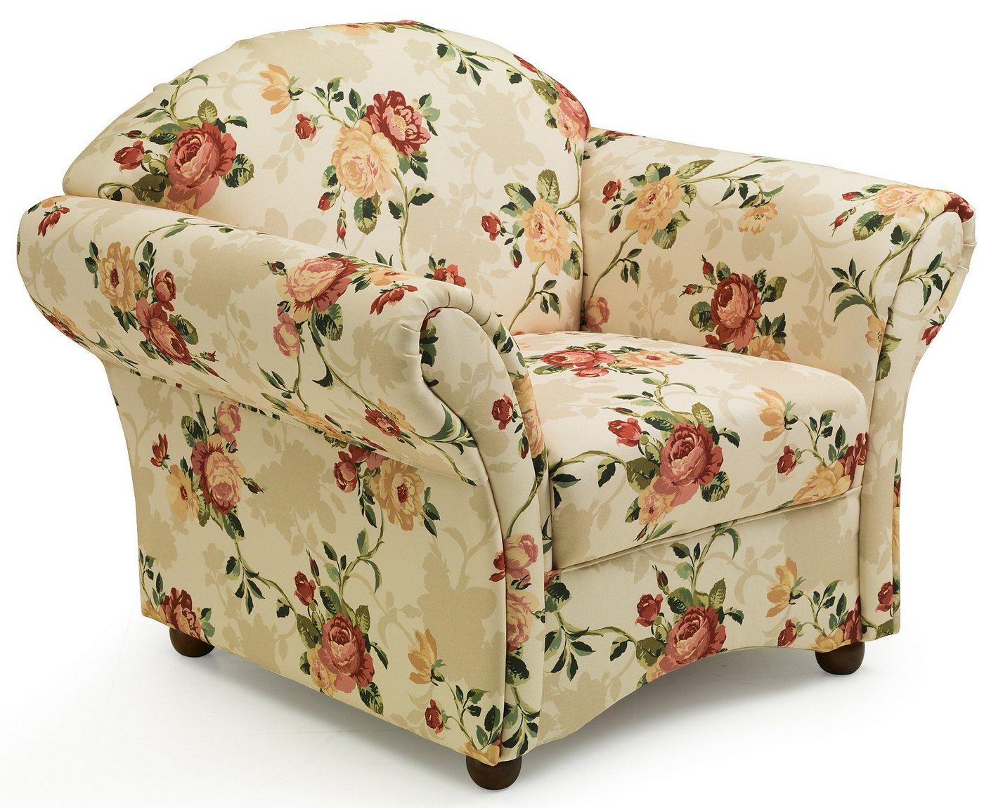 MAX WINZER® Gebloemde fauteuil Carolina