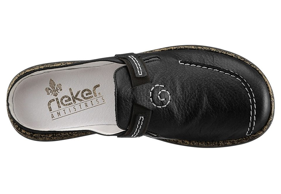 on sale aa588 b3906 rieker sabot