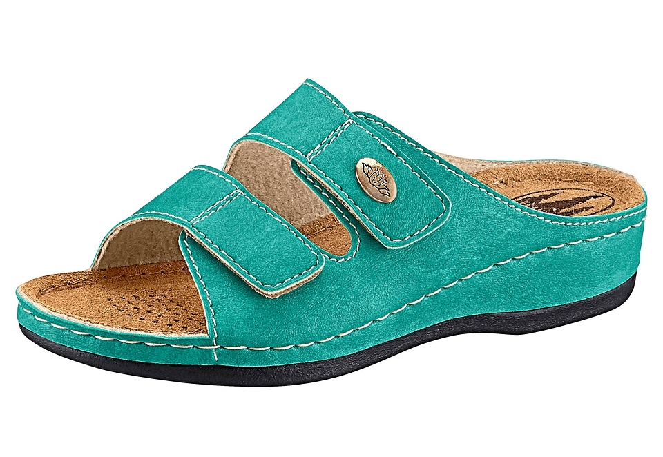 Franken-Schuhe Classic slippers met 2 klittenbandsluitingen veilig op otto.nl kopen