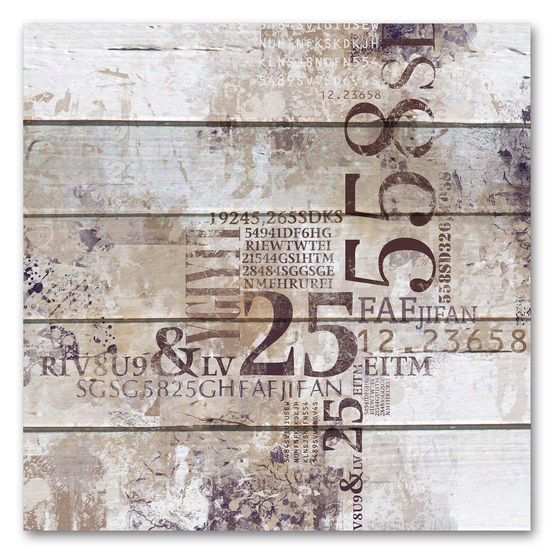Queence Artprint op hout in de webshop van OTTO kopen