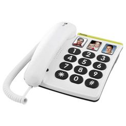 doro analoge vaste telefoon »big button phoneeasy 331ph« wit