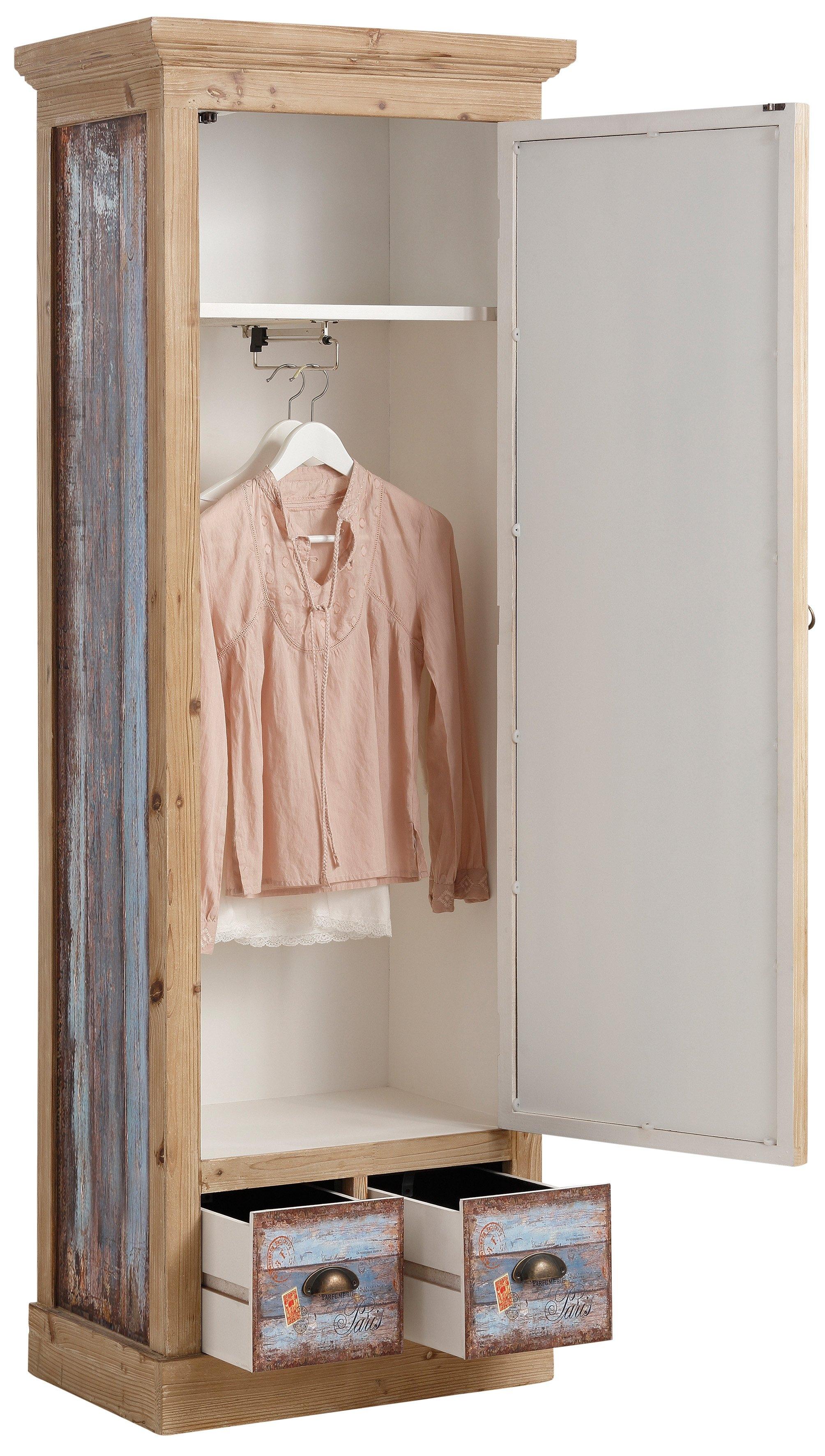 home affaire garderobekast vintage online bestellen otto. Black Bedroom Furniture Sets. Home Design Ideas