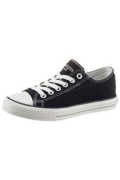 dockers by gerli sneakers met een stijlvol logoborduursel zwart