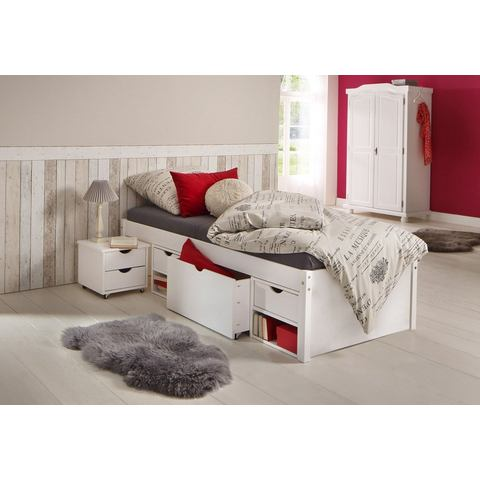 HOME AFFAIRE Bed met bergruimte wit wit Home Affaire 457227