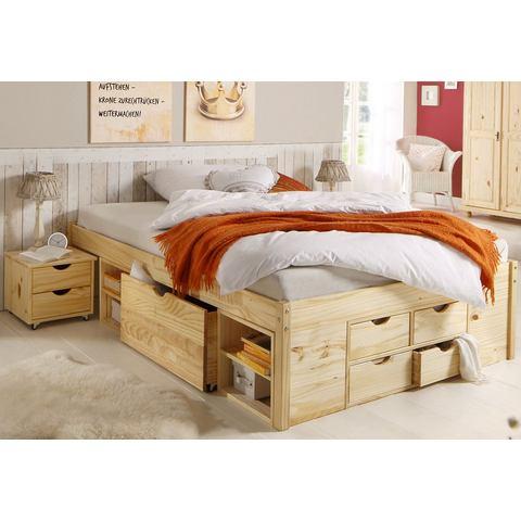 HOME AFFAIRE Bed met bergruimte naturelkleur beige Home Affaire 545460