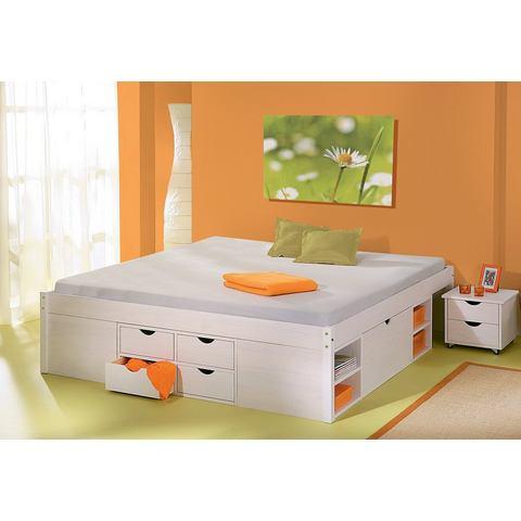 HOME AFFAIRE Bed met bergruimte wit wit Home Affaire 492105