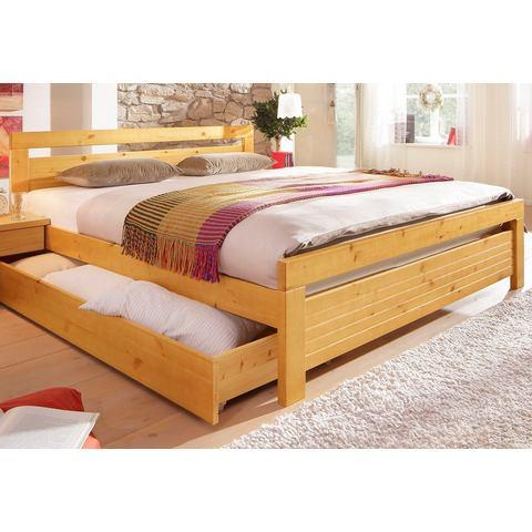 HOME AFFAIRE Bed van grenenhout honingkl. geel 451897