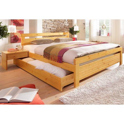 HOME AFFAIRE Bed van grenenhout honingkl. geel 565845