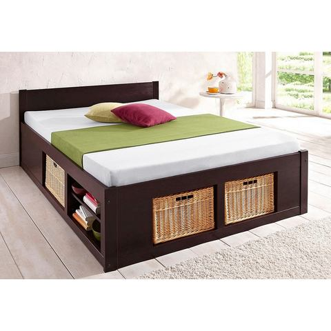 Bed Home Affaire koloniaalkleur bruin Home Affaire 697376