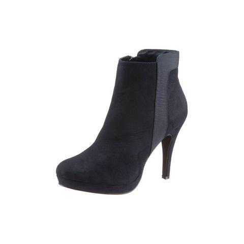 Dames schoen: LAURA SCOTT Highheel-laarsjes van microfiber