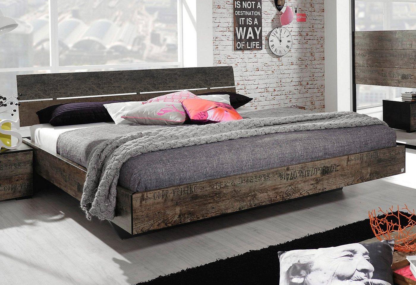 RAUCH Bed in vintage-look
