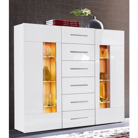 Dressoirs Highboard Daiquiri van 120 cm breed 457752
